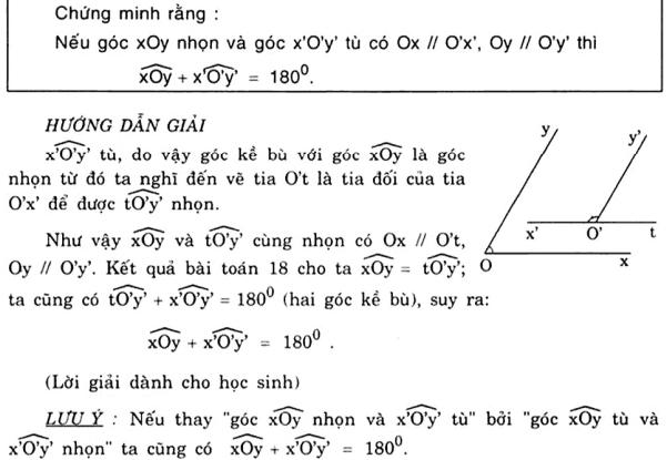 Vẽ thêm yếu tố phụ để giải bài toán chứng minh góc