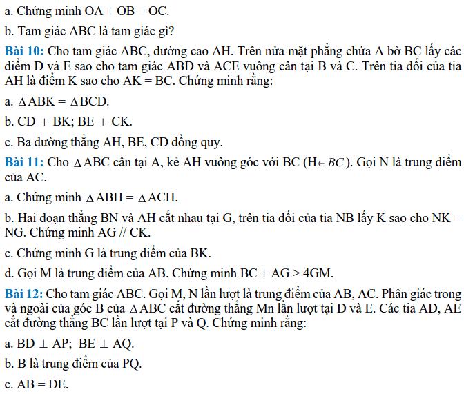 Đề cương ôn tập HK2 môn Toán 7 THCS Lê Quý Đôn 2017-2018