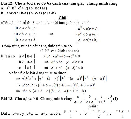 Bất đẳng thức, tìm giá trị min-max của biểu thức