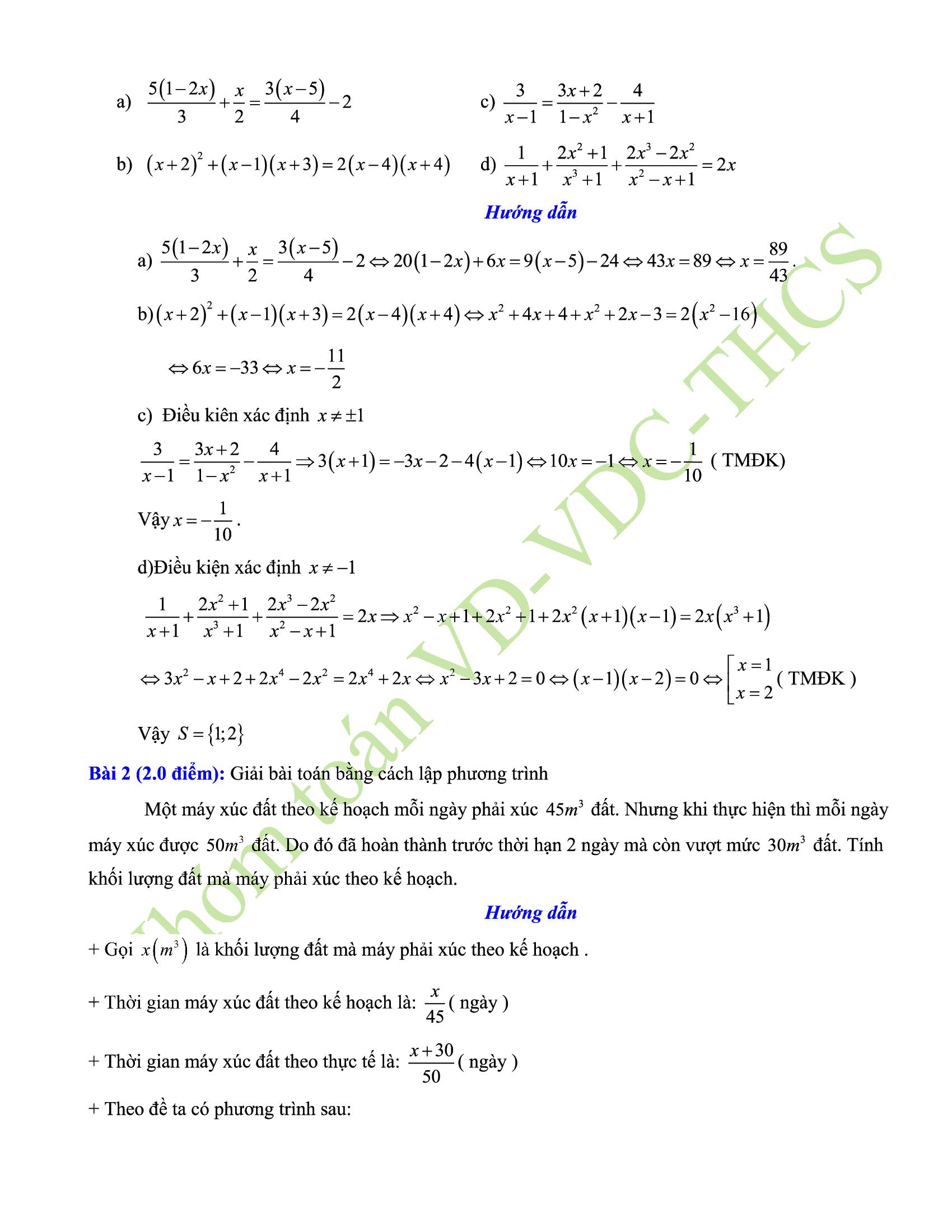 29+ đề thi giữa hk2 toán 8 hay nhất 2021