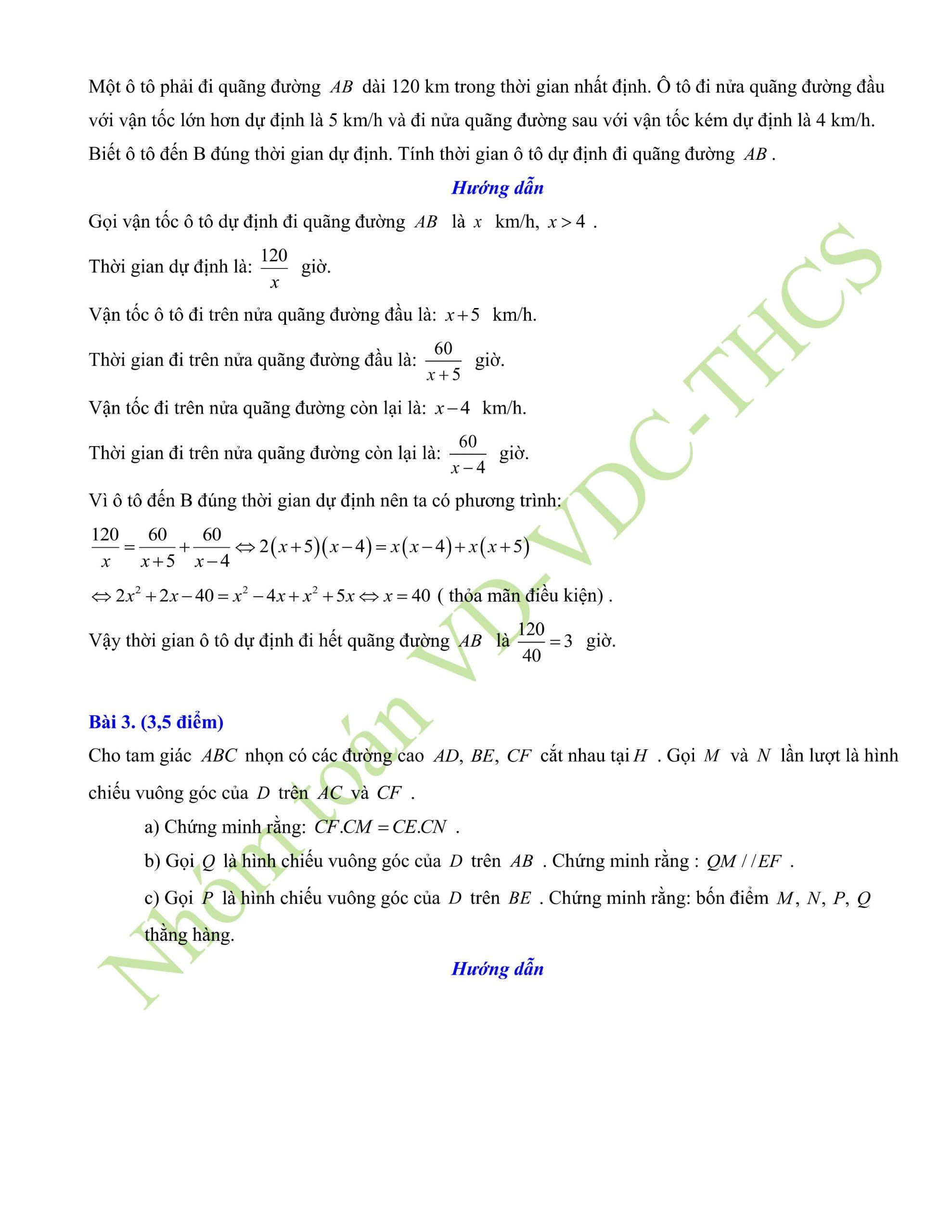 29+ đề thi giữa hk2 toán 8có lời giải để ôn tập hay nhất p5