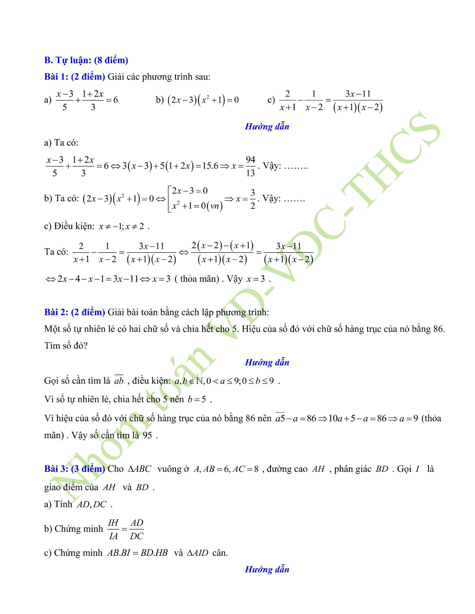 29+ đề thi giữa hk2 toán 8có lời giải để ôn tập mới nhất p5