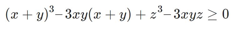 Bất đẳng thức Cosi 10