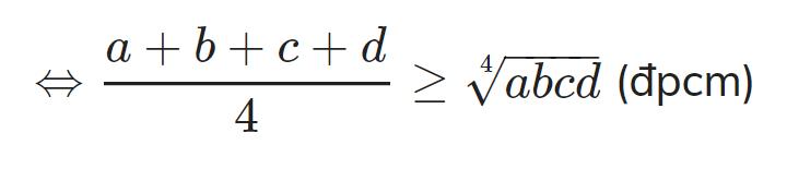 Bất đẳng thức Cosi 12