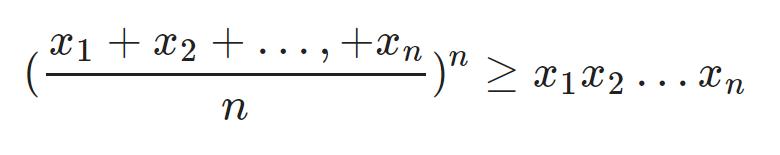 Bất đẳng thức Cosi 2