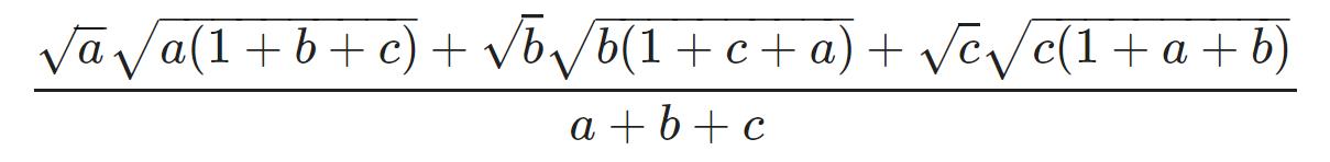 Bất đẳng thức Cosi 21
