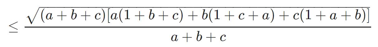 Bất đẳng thức Cosi 22