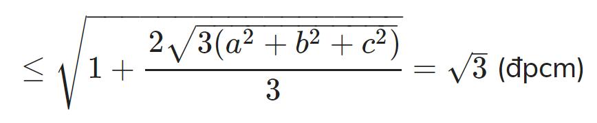 Bất đẳng thức Cosi 25