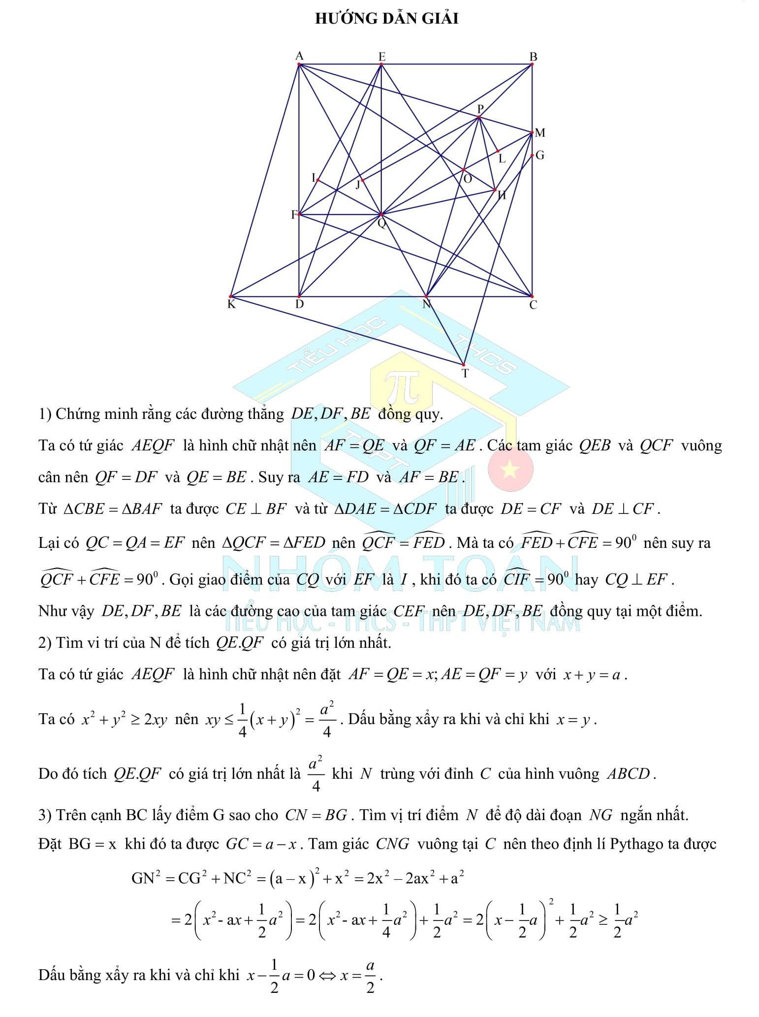 Ôn tập Toán Hình 8 chương 1