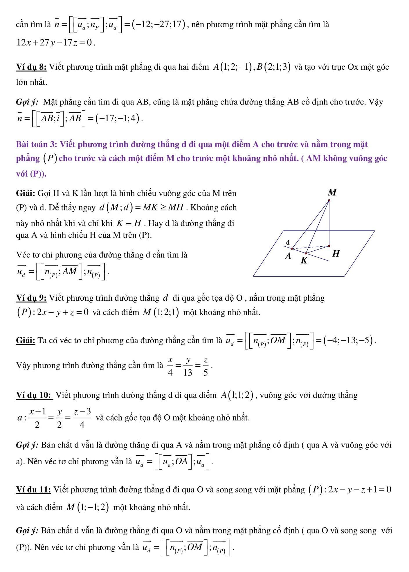 Chuyên đề Hình học không gian - Toán 12