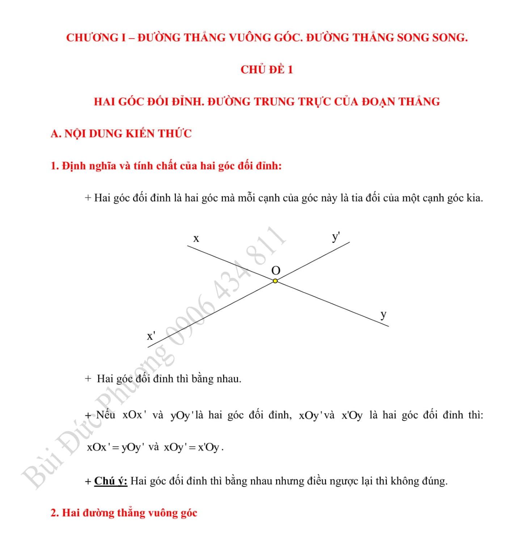 Toán Đại số 6 chương 1 Đường thẳng
