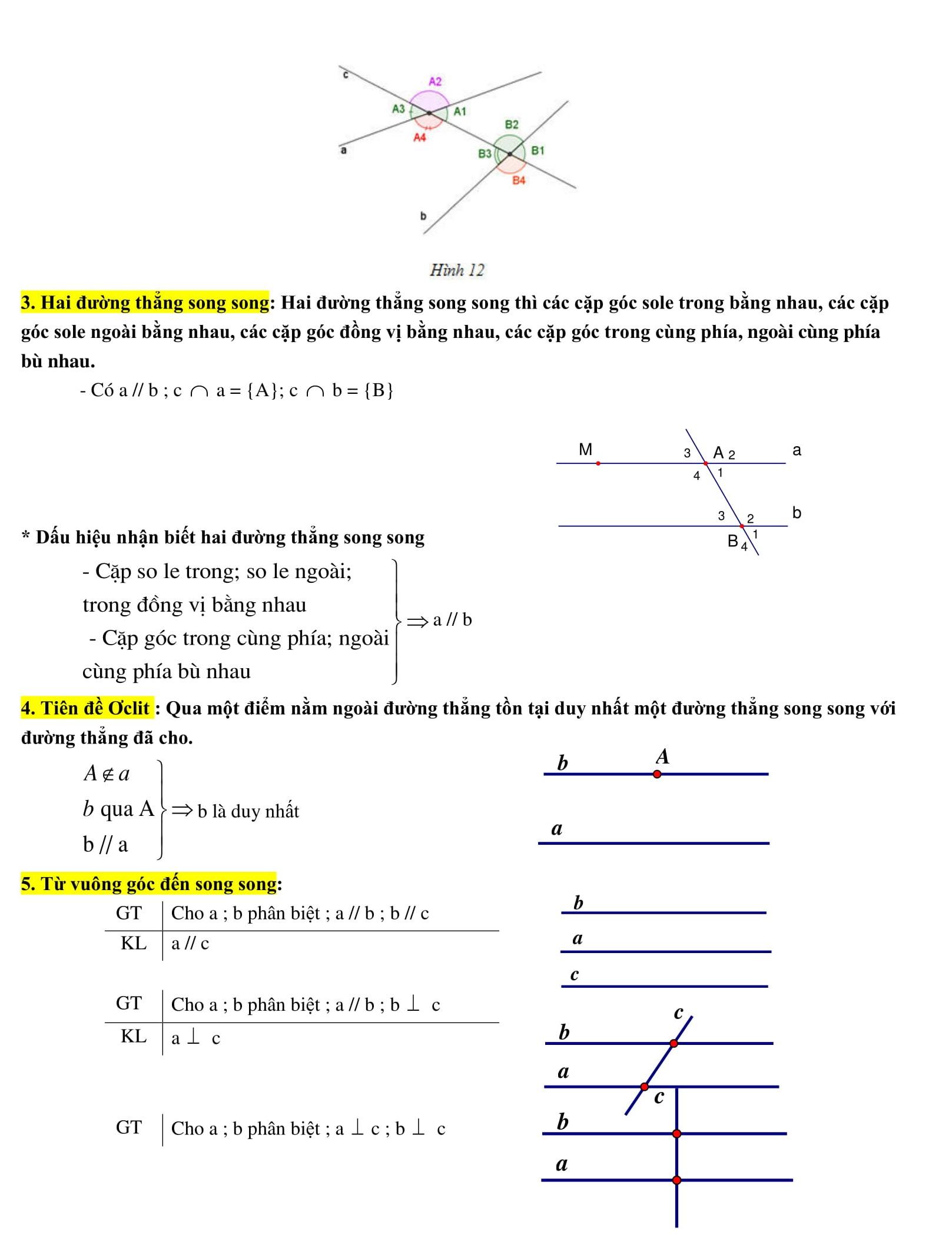 Hướng dẫn giải nhanh bài tập Toán hình 7 hiệu quả