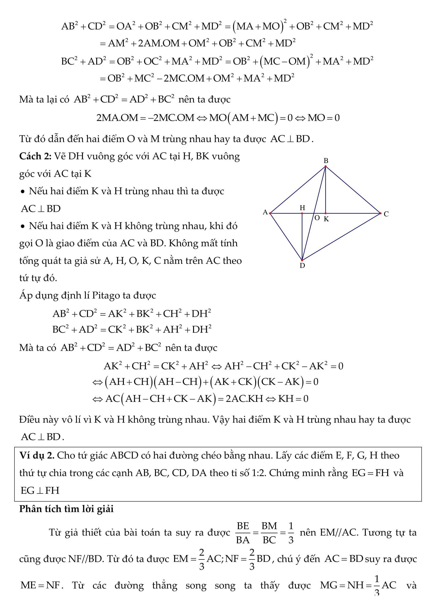 Tổng hợp các bài tập về tứ giác và đa giác - Toán hình 8