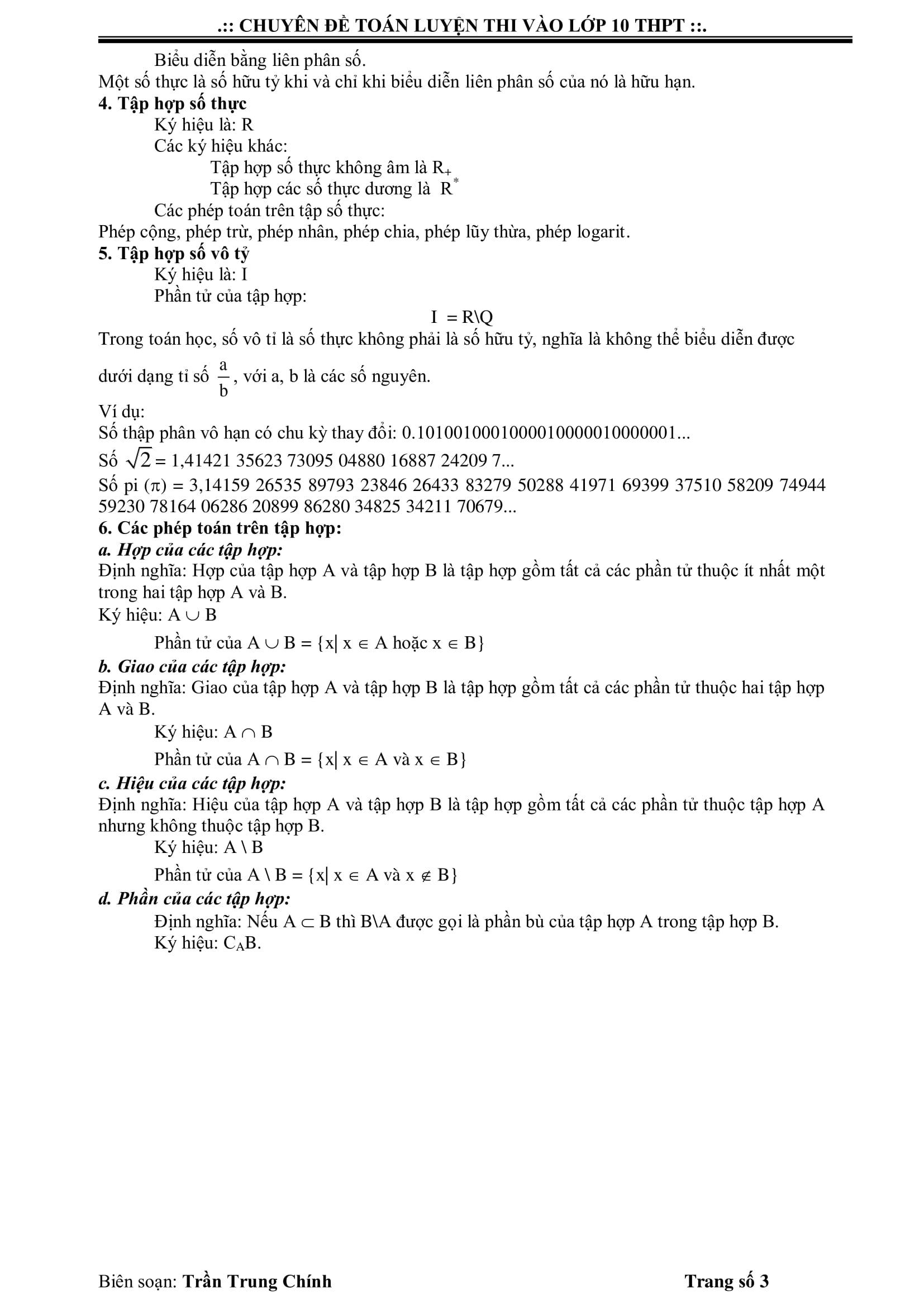 Đề cương ôn tập Đại số Toán 9 cả năm bài tập có lời giải