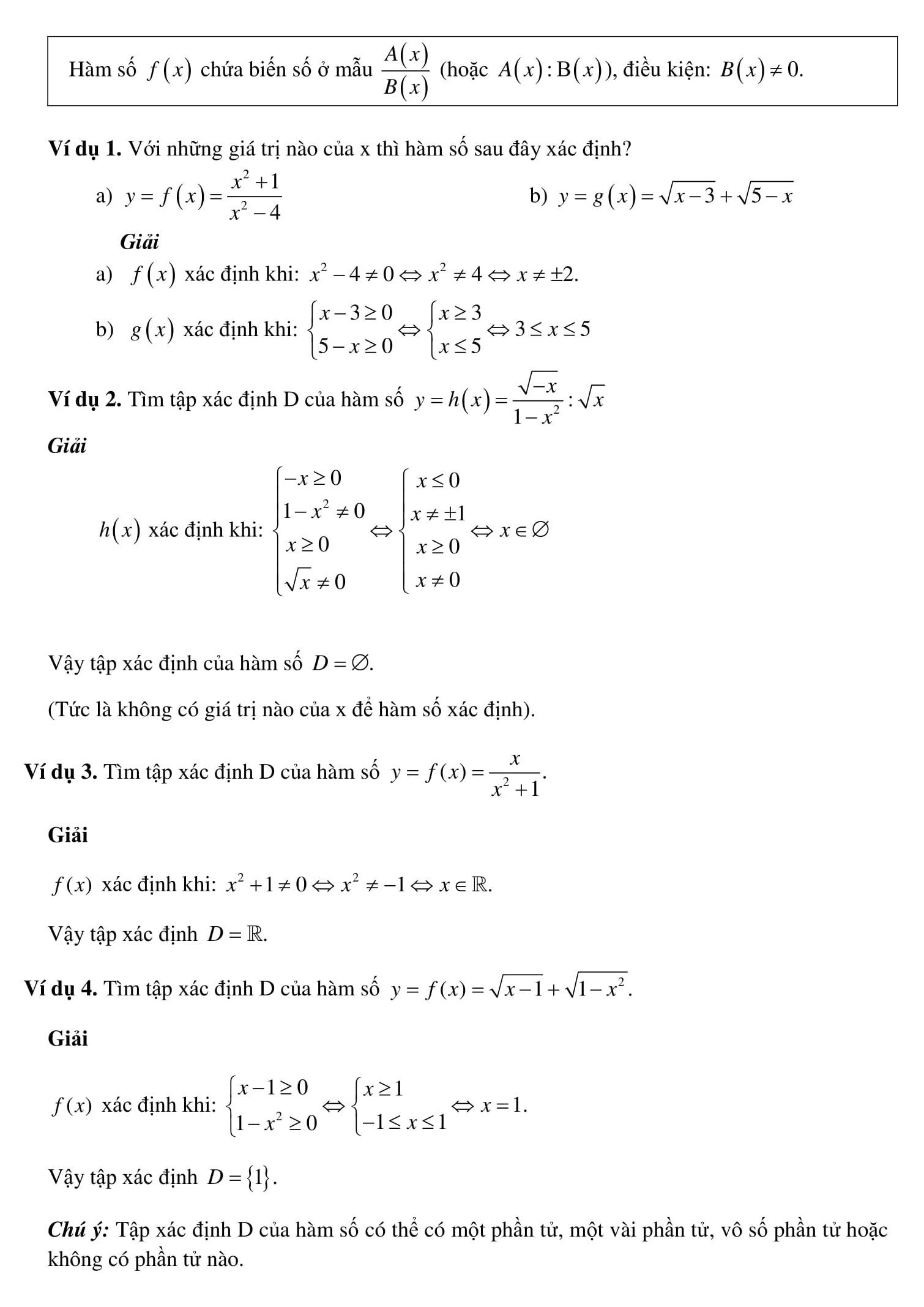 Chương 2: Hàm số bậc nhất tóm tắt và bài tập - Toán 9