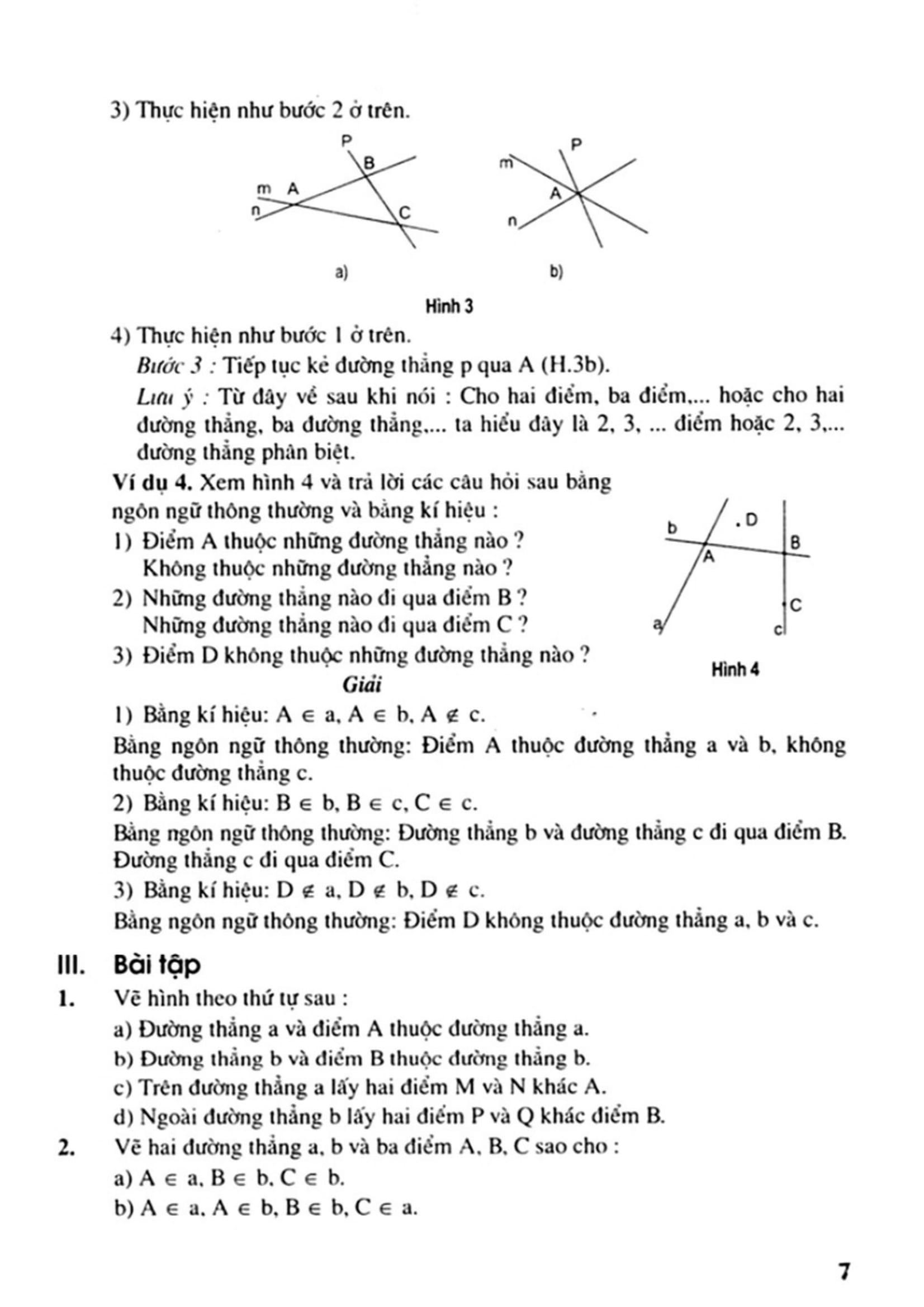 Hướng dẫn giải toán 6 Hình học cả năm