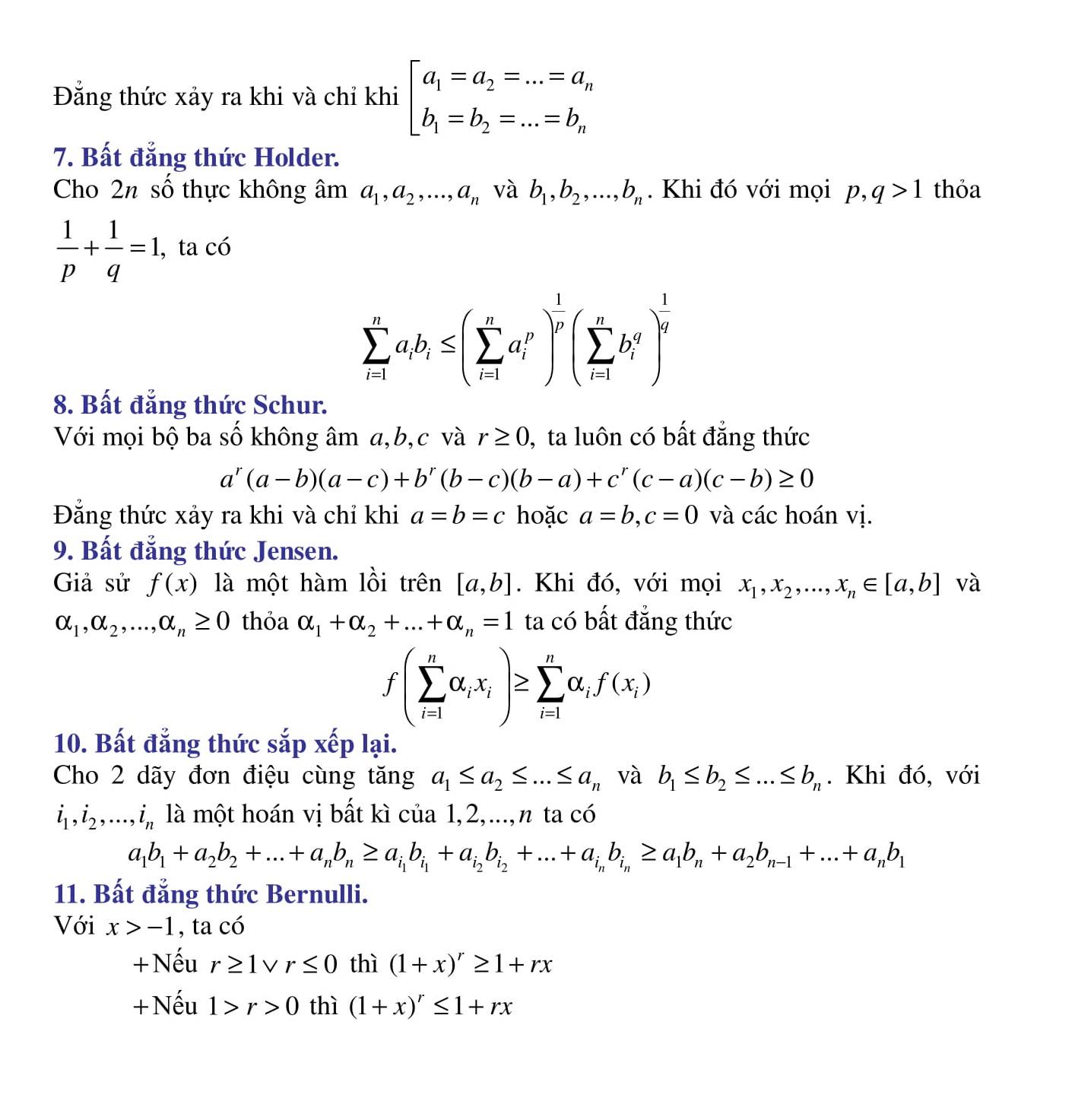 Chuyên đềToán 12: Bất đẳng thức (bài tập + giải) giúp luyện thi hiệu quả
