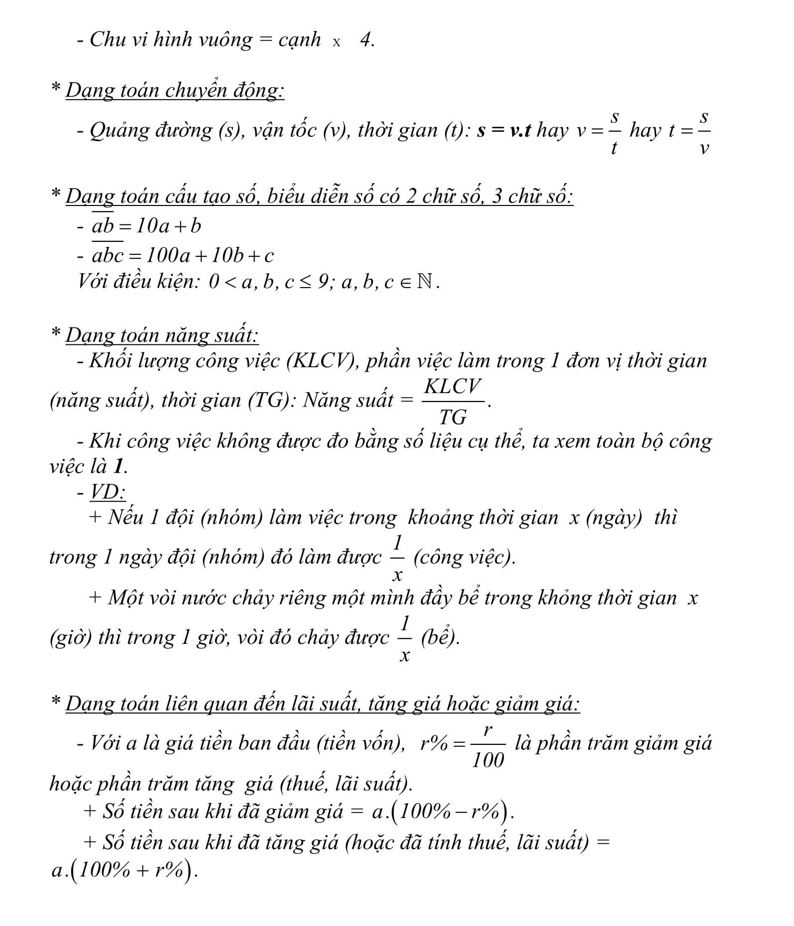 Đề cương HK2 toán 8 được tổng hợp