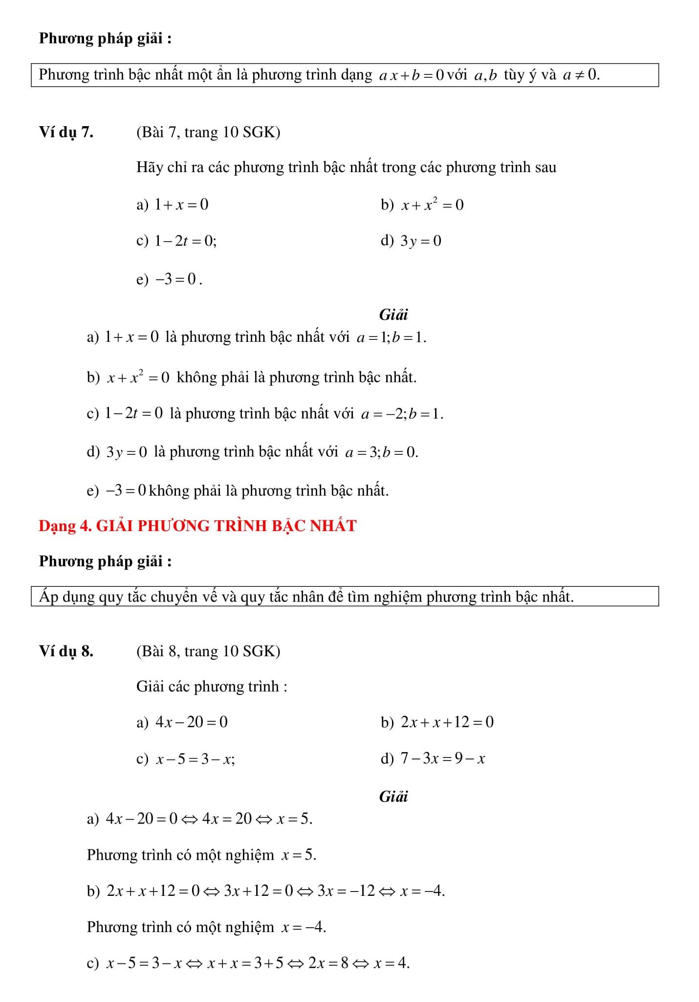 Đề cương HK2 toán 8 giúp thi GHK2 và HK2 được hiệu quả