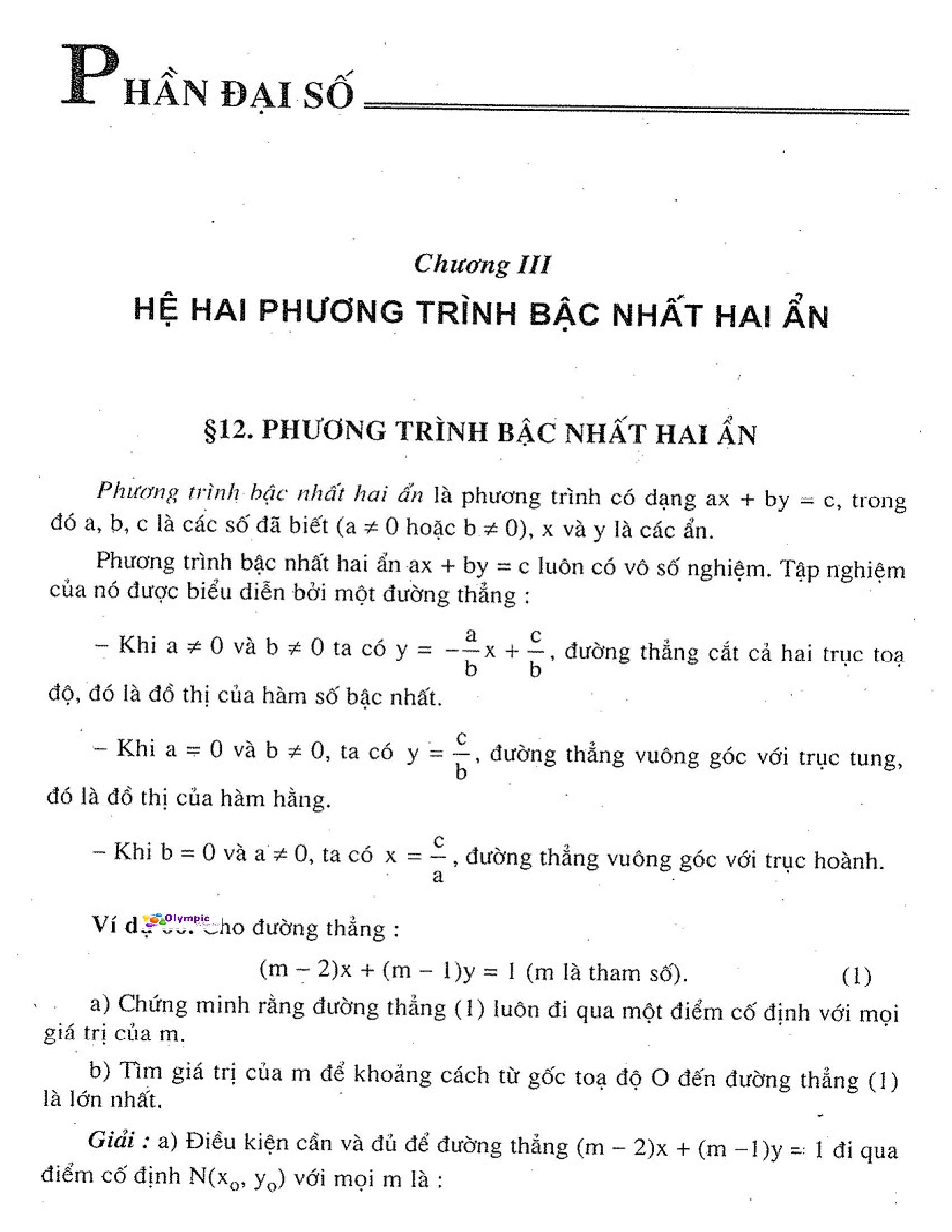 Bộ Tài Liệu Toán Đại Số 9 Nâng Cao HK2 - Tập 2 Hay
