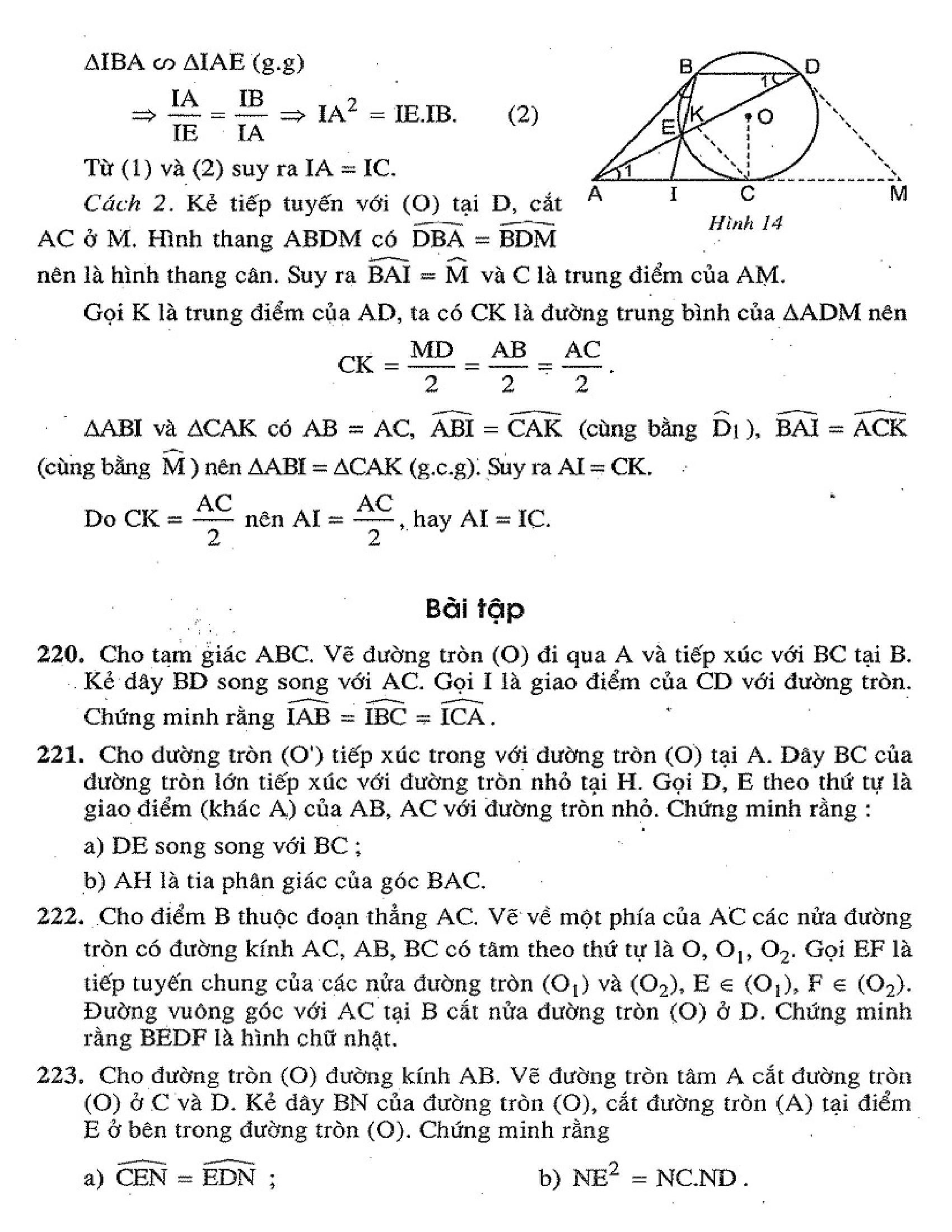 Bộ Tài Liệu Toán Đại Số 9 Nâng Cao HK2 - Tập 2 đầy đủ